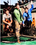Adam Devine, Blake Anderson, and Anders Holm Signed - Autographed Workaholics Cast 8x10 inch Photo - Guaranteed to pass BAS