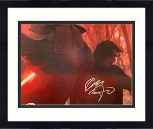 Adam Driver Signed Auto Star Wars Rise of Skywalker 8x10 Photo Kylo Ren  BAS