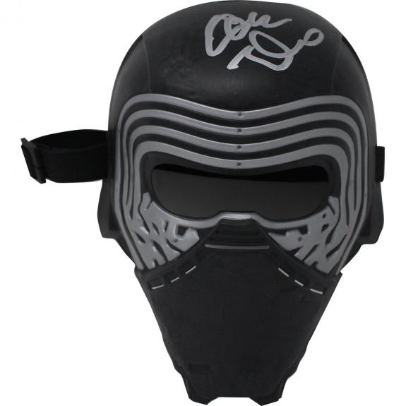 "Adam Driver Signed ""Kylo Ren"" Star Wars Mask (Beckett Auth)"