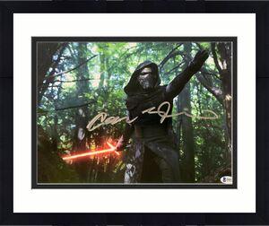 Adam Driver Signed Star Wars Jedi, Skywalker 11x14 Photo Kylo Ren Beckett BAS 14