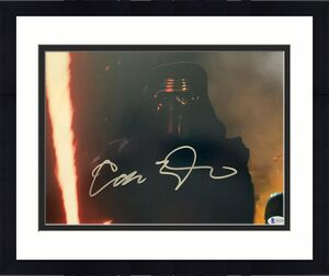Adam Driver Signed Star Wars Jedi, Skywalker 11x14 Photo Kylo Ren Beckett BAS 2