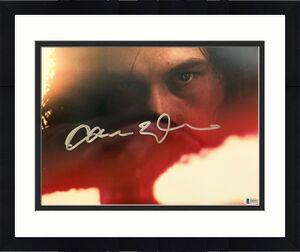 Adam Driver Signed Star Wars Jedi, Skywalker 11x14 Photo Kylo Ren Beckett BAS 6