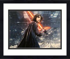 Adam Driver Signed Star Wars:The Force Awakens 16x20 Photo *Kylo Ren BAS S96082