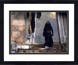 "Adam Driver Star Wars The Force Awakens Autographed 11"" x 14"" as Kylo Ren Photograph - BAS"