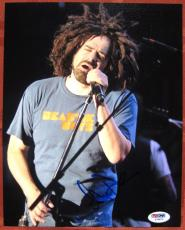 Adam Duritz Counting Crows signed 8x10 photo PSA/DNA auto