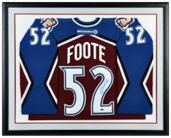 Adam Foote Autographed Framed Colorado Avalanche Jersey - Mounted Memories