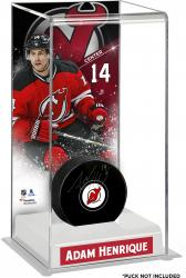 Adam Henrique New Jersey Devils Deluxe Tall Hockey Puck Case