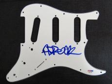 Adam Horovitz Ad Rock Beastie Boys Signed Electric Guitar Pickguard PSA/DNA A...