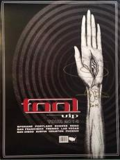 Adam Jones Autographed Photo - Tool VIP Guest Package Poster Authentic AFTAL COA