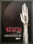 Adam Jones Autographed Photo - Tool VIP Guest Package Poster Authentic AFTAL