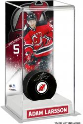 Adam Larsson New Jersey Devils Deluxe Tall Hockey Puck Case