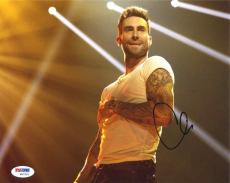 Adam Levine 'Maroon 5' Autographed Signed 8x10 Photo Certified Authentic PSA/DNA