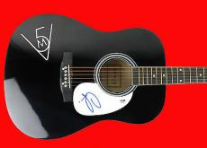Adam Levine Maroon 5 Signed Acoustic Guitar PSA/DNA #AB83330