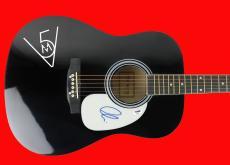 Adam Levine Maroon 5 Signed Acoustic Guitar PSA/DNA #AC17091