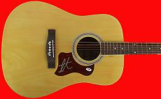 Adam Levine Maroon 5 Signed Acoustic Guitar (The Voice) PSA/DNA #AA83195