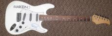 Adam Levine Maroon 5 Signed Electric Guitar Authentic Autograph Jsa Coa