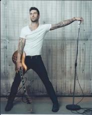 Adam Levine Signed Autographed 8x10 Photo Maroon 5 Lead Singer Sexy #3