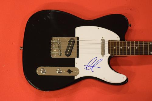 Adam Levine Signed Autographed Electric Guitar  Maroon 5 Lead Singer B