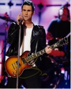 Adam Levine Signed - Autographed Maroon 5 Concert 8x10 inch Photo - Guaranteed to pass BAS - The Voice Judge