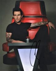 Adam Levine Signed - Autographed The Voice Judge - Maroon 5 8x10 inch Photo - Guaranteed to pass PSA/DNA or JSA