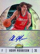 Adam Morrison Autographed 2007 Topps Finest Rookie Card