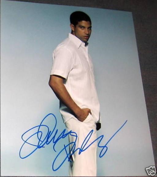 Adam Rodriguez Signed Autograph Csi Miami Stud Photo B