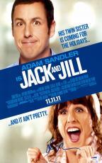 "Adam Sandler Autographed 11"" x 17"" Jack And Jill Movie Poster - PSA/DNACOA"