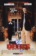 """Adam Sandler Autographed 11"""" x 17"""" Mr. Deeds Movie Poster - PSA/DNACOA"""