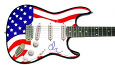 Adam Sandler Autographed Signed Guitar & Proof UACC PSA/DNA