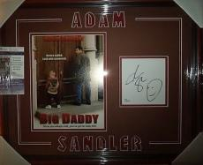 "Adam Sandler ""big Daddy"" Movie Jsa Coa Signed Autographed Double Matted & Framed"