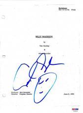Adam Sandler Signed Billy Madison Complete Script Authentic Autograph Psa Coa