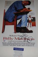Adam Sandler Signed Billy Madison Photo Movie Poster Psa/dna Coa #p64063