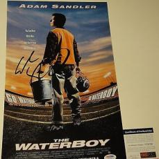 Adam Sandler Signed 'the Waterboy' 11x17 Movie Poster Photo Psa/dna Coa V73720