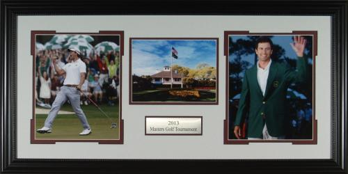 Adam Scott 2013 Masters Framed Display