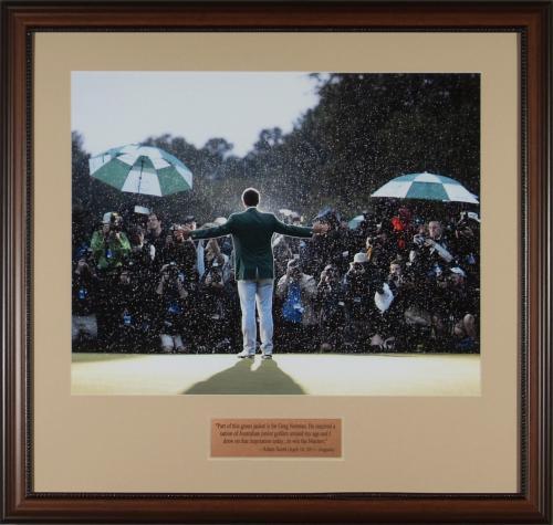 Adam Scott – The Champion in the Rain 2013 Framed Photo Framed 16x20
