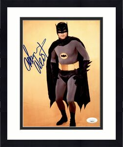"""Adam West Actor """"Batman"""" Signed/Autographed 8x10 Photo JSA 161294"""