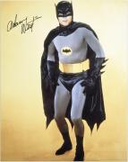 """Adam West Autographed 16"""" x 20"""" Batman Photograph"""