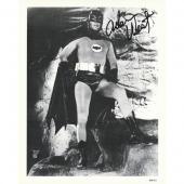 Adam West Autographed 8X10 Photo (in Bat Cave)