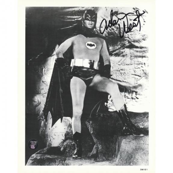 Adam West (deceased) Autographed Batman 8X10 Photo