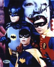 Adam West Batman Autographed Signed 8x10 Photo Authentic Beckett BAS COA