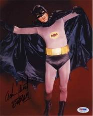 Adam West Batman Autographed Signed 8x10 Photo Certified Authentic PSA/DNA COA