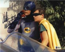 Adam West Batman Autographed Signed 8x10 Photo Certified Beckett BAS COA
