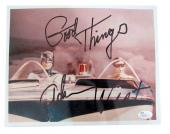 Adam West Batman Autographed/Signed 8x10 Photo Inscribed JSA 131835