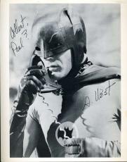 ADAM WEST Batman Hand Signed PSA DNA COA 8x10 Photo Autograph Authentic