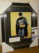 Adam West Batman Original Signed Autographed 13x16 Matted Framed Jsa Coa A