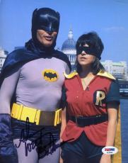ADAM WEST Batman PSA DNA Coa Hand Signed 8X10 Photo Autograph Authenticated