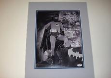 Adam West Batman Signed 11x14 Photo Custom Matted To 16x20 Psa/dna Coa U78501