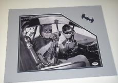 Adam West Batman Signed 11x14 Photo Custom Matted To 16x20 Psa/dna Coa U78502