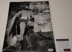 Adam West 'batman' Signed 11x14 Photo Psa/dna Coa V73837
