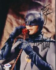Adam West Batman Signed 8x10 Photo Autograph Auto PSA/DNA AD70156